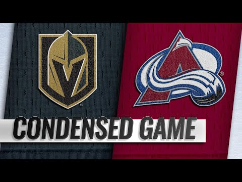 09/18/18 Condensed Game: Golden Knights @ Avalanche