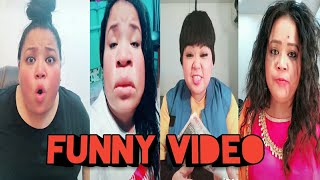 Bharti singh latest funny videos on Tiktok 😀trending