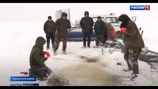 В Марий Эл промышленный лов рыбы ведётся на 23 участках