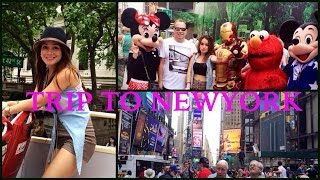OUR DAYTRIP TO NEW YORK! RIDING DOUBLE DECKER TOUR BUSS Thumbnail