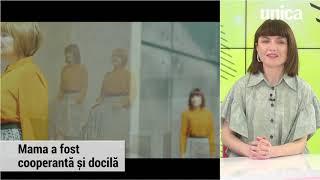 Alexandra Ungureanu a filmat cu mama ei