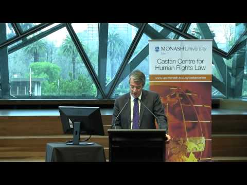 Australia, Human Rights and the International Rule of Law (presented by The Hon. Mark Dreyfus QC)