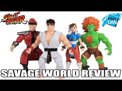 Street Fighter Savage World Funko Figures  Review