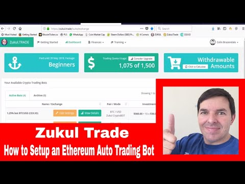 Zukul Trade | How to setup an auto trading bot for Ethereum