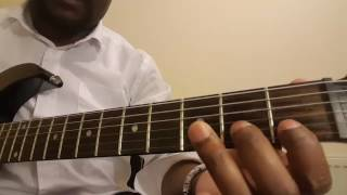 Soukous Tutorial: 4 Seben Rythm Licks in G Maj