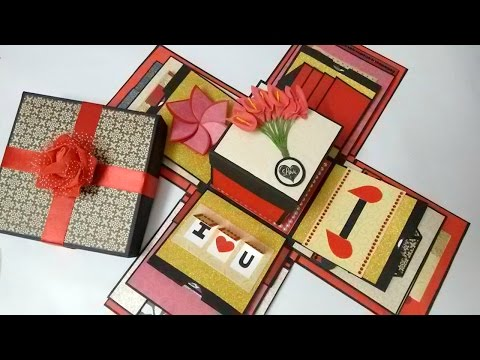 Explosion box Theme - Valentine/ Black, red and gold  by Srushti Patil: This is an explosion box I made some days back, if you want to place an order for such a box or any type of card inbox me at srushti.patil.sp@gmail.com OR Direct Message @all_about_sketch  Waterfall Card  https://www.youtube.com/watch?v=15OfdFi_wZY  Flower envelope card https://www.youtube.com/watch?v=MPNb3CD20GA  Hexaflexagon card https://www.youtube.com/watch?v=5jv0cv2TG1w  Shutter Card https://www.youtube.com/watch?v=SAVHLbaQ12A  Heart Shutter Card https://www.youtube.com/watch?v=1QJeVeObrB4  Love Slider Card https://www.youtube.com/watch?v=7sx5znEnzzE  Never Ending Card https://www.youtube.com/watch?v=gTK4ZIzpkv8  Peek-a-boo Card https://www.youtube.com/watch?v=ykxWoYLnZ6w  Double Trishutter Card https://www.youtube.com/watch?v=azhi_mvf5B8  Swing Card  https://www.youtube.com/watch?v=6MbraebXpEM  Pop up Card https://www.youtube.com/watch?v=YGaXMt2skSs  Mini Envelopes https://www.youtube.com/watch?v=7RnVNtLYHtc  Accordion Card https://www.youtube.com/watch?v=X9byTzZxLrg  Circle Envelope Card https://www.youtube.com/watch?v=YistY13htgA  By Srushti Patil Contact srushti.patil.sp@gmail.com Instagram @all_about_sketch