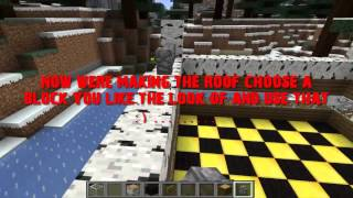 minecraft town easy hall build