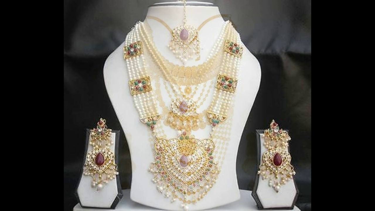 RANI HAAR ( Necklace Design For Royals) Design - YouTube