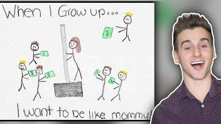 Hilarious Kid Drawings!