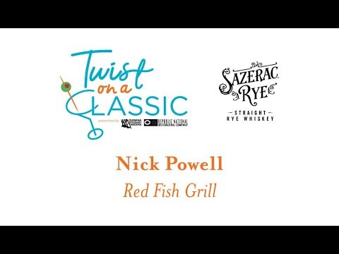 Nick Powell Of Red Fish Grill Making RYEse + Shine