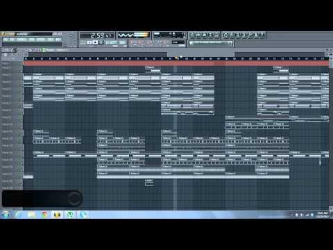 Wiz Khalifa - Bluffin Instrumental Remake fl studio (w/free flp!!!)