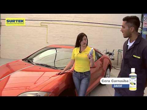 Como pulir y encerar tu automóvil con productos Surtek