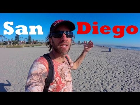 A Tour of Downtown SAN DIEGO, California & Coronado Island