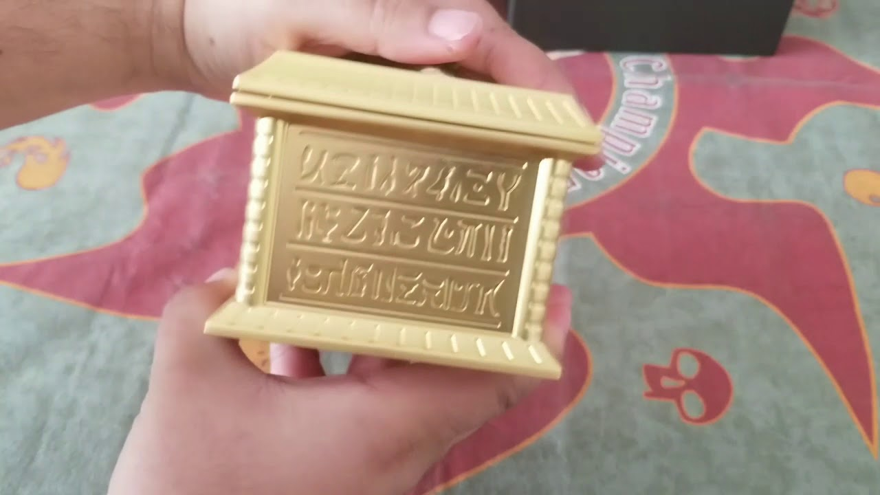 Yugioh Gold sarcophagus replica unboxing