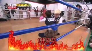 [ENGSUB] Ji Hyo VS HAHA Funny boxing ever