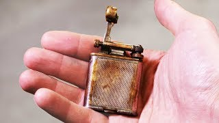 1930's lift arm lighter RESTORATION - another Ebay find