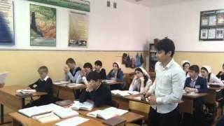 Открытый урок по русской литературе в 8а кл в СОШ №7 г.Гудермеса