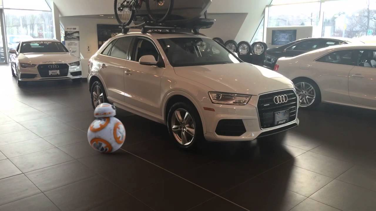 2016 audi q3 in a stormtrooper white as the force awakens youtube. Black Bedroom Furniture Sets. Home Design Ideas
