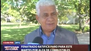 FENATRADO ratifica paro para este martes por alza en los combustibles