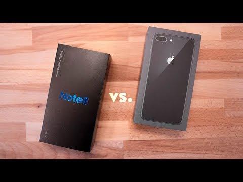 Download Youtube: iPhone 8 Plus vs Galaxy Note 8 - Comparison + Camera!