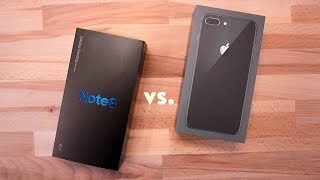 iPhone 8 Plus vs Galaxy Note 8 - Full Comparison!