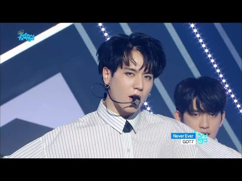 【TVPP】 GOT7 - Never Ever, 갓세븐 – 네버 에버 @Comeback Stage, Show Music Core