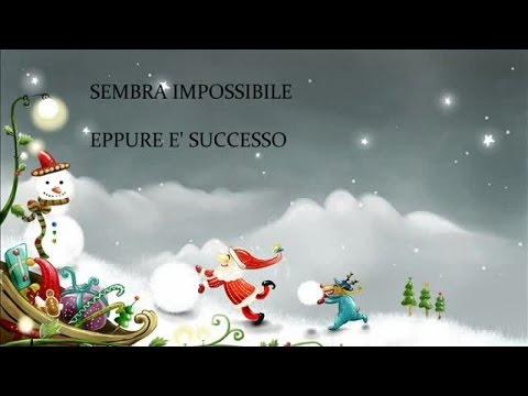 I Mitici Angioletti - Il pupazzo di neve (Canzoni natalizie con testo)