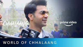 World Of Chhalaang | Rajkummar Rao, Nushrratt Bharuccha | Amazon Original Movie | Nov 13