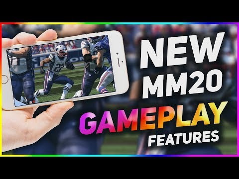 NEW MADDEN MOBILE 20 GAMEPLAY FEATURES!!! *NEVER BEFORE SEEN*