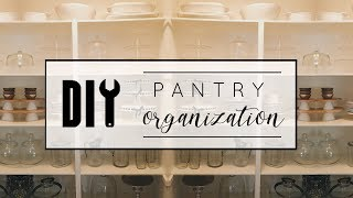 DIY Pantry Makeover Part 1: Dollar Store Organization