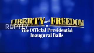 LIVE of the Official Presidential Inauguration Ball in DC