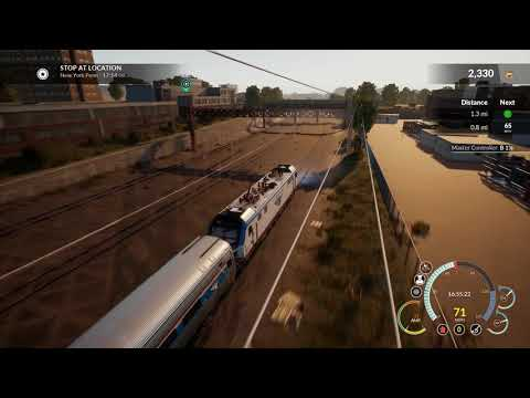 Let's Play TSW: NEC Northeast Corridor DLC - Ep 6 New Rochelle to New York Penn