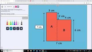 perimeter of composite shapes