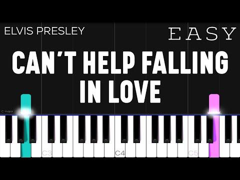 Can't Help Falling In Love - Elvis Presley | EASY Piano Tutorial