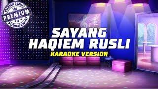 Download lagu Haqiem Rusli Sayang By Kaza MP3