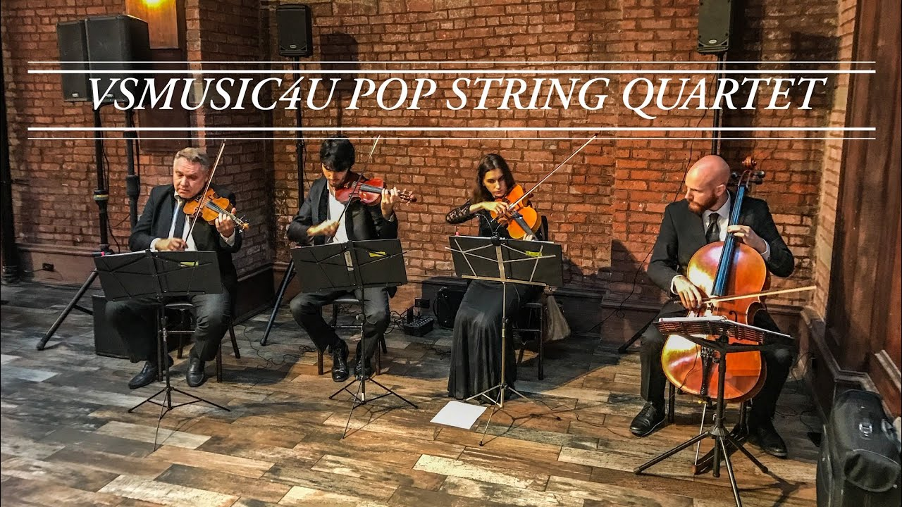 VSmusic4u String Quartet Wedding Musicians Long Island NY Pop Modern Song Covers