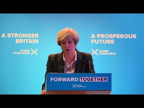 May says Sturgeon should not get seat at table for Brexit talks