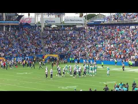Chargers Antonio Gates Sets Tight End Touchdown Record - View from the Stands