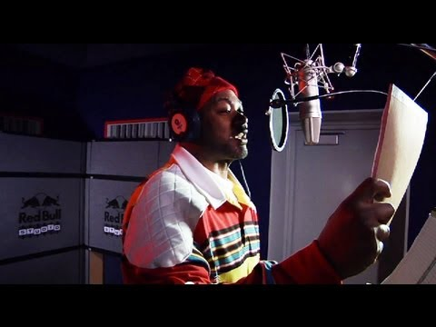 Ghostface Killah raps live in the Red Bull Studio