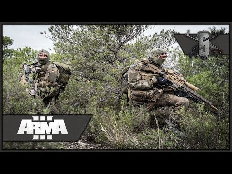 German Sniper Recon Team - ArmA 3 - Bundeswehr Long Range Overwatch