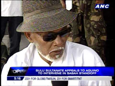 Sulu sultan seeks PNoy