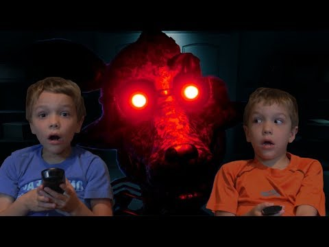 Freddy's and Foxy Are On TV!  Joy of Creation: Story Mode Twin Toys Kids Jumpscare