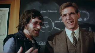 Harrison Ford And Steven Speilberg Outtake (Raiders Of The Lost Ark)