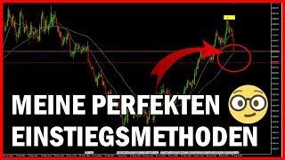 Wie ich im Forex/CFD Trading in Trades einsteige 🧐 Candlestick Strategien für Anfänger (Deutsch)
