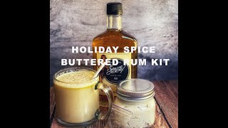Holiday Spice Buttered Rum Kit