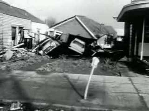 Crescent City Tsunami - 1964