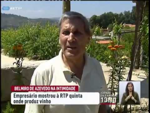 Belmiro de Azevedo mostra quinta da família