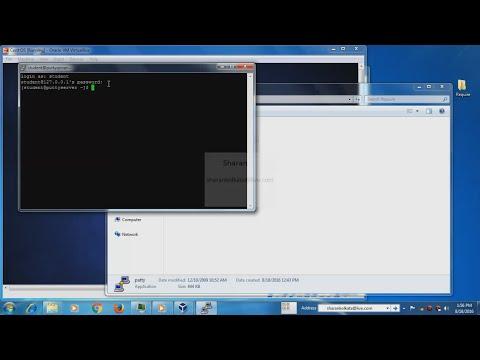 CentOS installation on Virtual box & configuration to access CentOS terminal via Putty SSH Client.