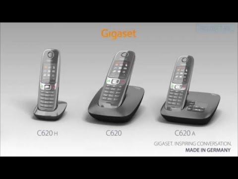 Видео обзор Gigaset C620