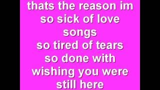 so sick of love song by neyo lyrics